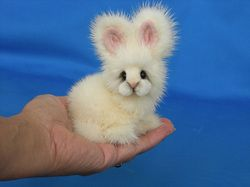 Mink bunny, oh I want one.: Adorable Mink, Bunny Adorable, Fluffy In, Mink Bunny, Adorable Animals In Costumes, Fluffy Bunny, Pets In Costume, Bunny I