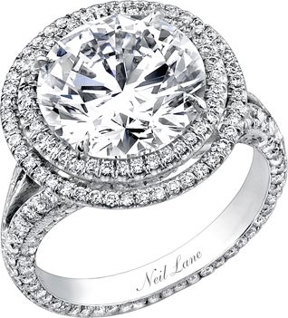 Neil Lane engagement... stunning. THIS 2 carat double halo style ring is amazing... My number ONE dream ring. <3: Engagementring, Wedding Ideas, Diamonds, Jewelry, Dream Wedding, Neil Lane, Neillane, Engagement Rings