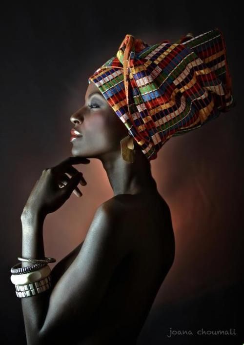 oh i love.  i need to know how to tie a head dress like this.: Headwrap, African, Beautiful, Beauty, Photo, People, Black