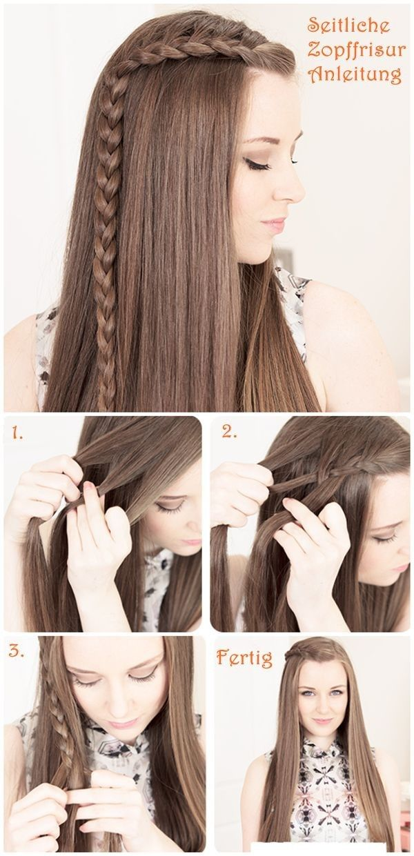 Step by Step Hairstyles for Long Hair: Long Hairstyles Ideas | PoPular Haircuts: Hair Tutorials, Hairstyles, Hair Styles, Long Hair, Side Braids, Step By Step