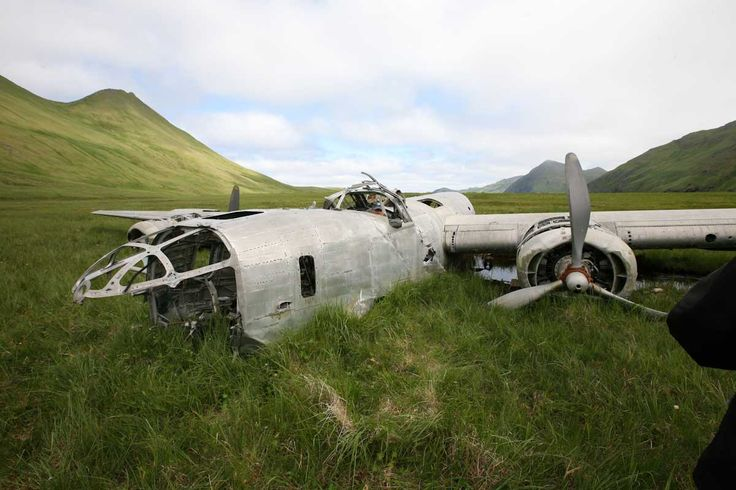 The Atka B-24D Liberator bomber, located at its crash site in Atka Island, Alaska, played a highly significant role in World War II. In the Aleutian Campaign against the Imperial Japanese forces from 1942 to 1943–the only battles fought in North America d