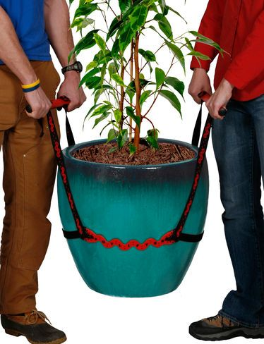 Well, that makes it look easy to move heavy pots.: Potlifter, Tools, Idea, Gardening, You, Products, Pot Lifter, Heavy Pot