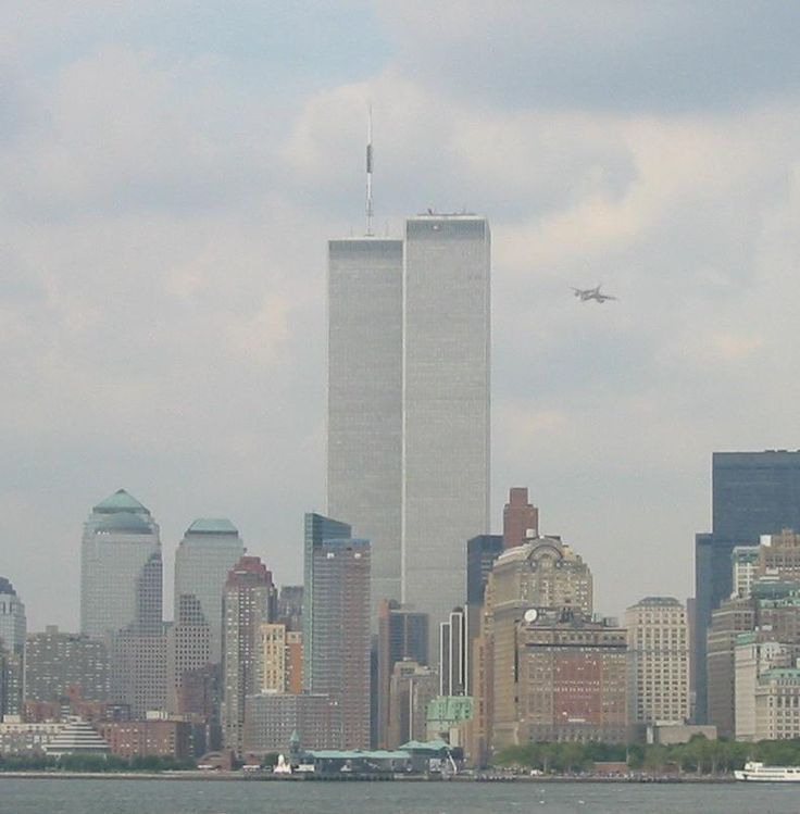 World Trade Center Crash | The moments before the world becomes unchained from the shackles of an ...: Wtc, Twin Towers, 09 11 2001, 9 11 01, September11, Plane Attack, 911, Planes, September 11Th