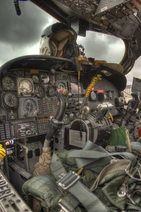 #HDR Cockpit of the iconic Huey helicopterhard to imagine flying one of these in such tight quarters, into rice paddy's along rivers, jungle opening's etc.: Iconic Huey, A 6 Cockpit, 480 720 Pixels, Huey Helicopterhard, Cloud, Chopper, Aircraft Co