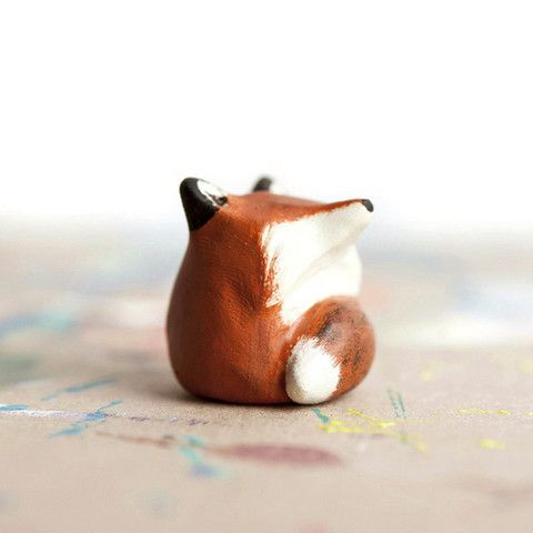 Le Red Fox Fat-Fat Totem | leanimale: Fox Totem, Animal Totems, Fox Fat Fat, Foxes, Miniature, Red Fox