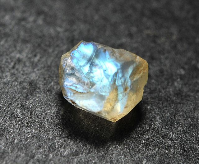 "Moonstone is a very personal stone. It is a reflection of the person who owns it. It does not add or detract, only shows how it is. This is why the moonstone is said to perceive that which ""is"". Moonstone is foremost a talisman of the inward journ"