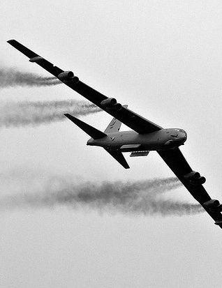 The old dog lettin' out the smoke!: Military Aircraft, Military Planes, Airplanes Now, B 52, B52 Bomber, Airplane Jets, Planes Airships, Air Planes