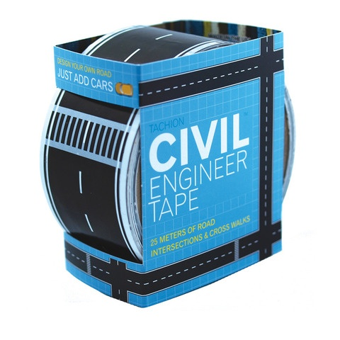 Civil Engineer Tape ...wasn't sure which board because my grandson, Wes would love this for his cars!: Engineer Tape, Gift Ideas, Boys, Gifts, Kids, Engineers