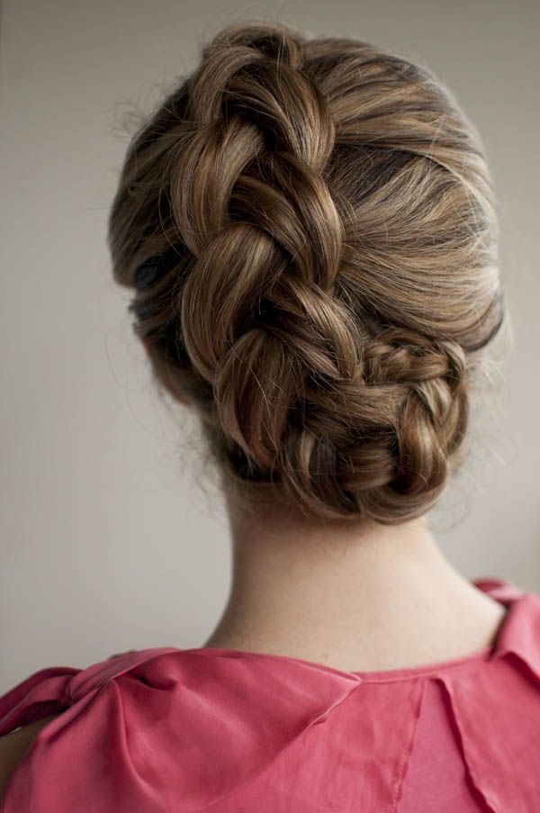 "Dutch Braid (reverse) Prom DO! Try something different with your hair! Maybe a reverse braid? Suggestion: Go to a salon and have it done once before your Prom to make sure it's what you want..that way you will know exactly what your prom ""do"""