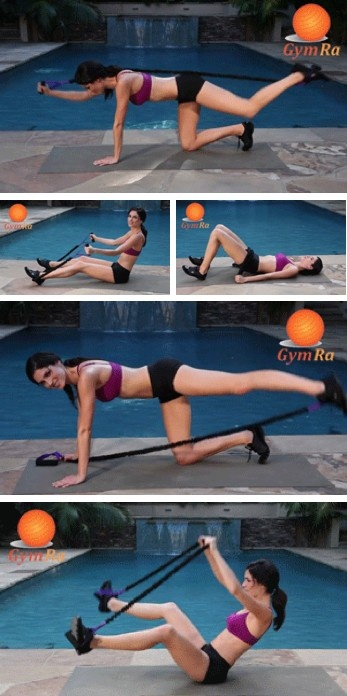 #fitness #exercise #workout #resistance band: Exercise Workouts, Resistance Bands Workout, Resistance Band Exercise, Exercise Band Workout, Fitness Exercises, Bands Exercise, Resistance Band Workout, Fat Loss