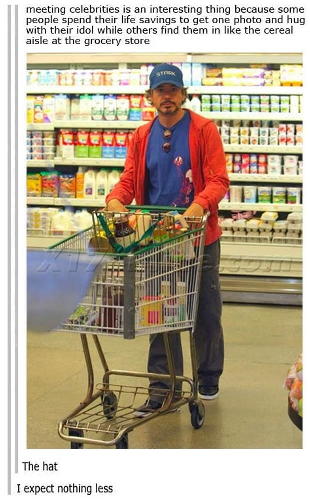 Funny Pictures Of The Day – 110 Pics: Grocery Store, Robert Downey Jr, The Face, Iron Man, Funny, Nu'Est Jr, Ironman, Tony Stark
