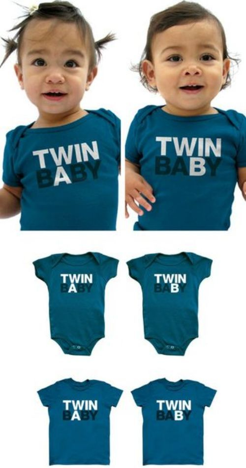 I like these onesies for the girls.: Onesie, Parents, Stuff, Clever Parenting, Baby, Parenting Ideas, Kids, Life Hacks, Twins Apart