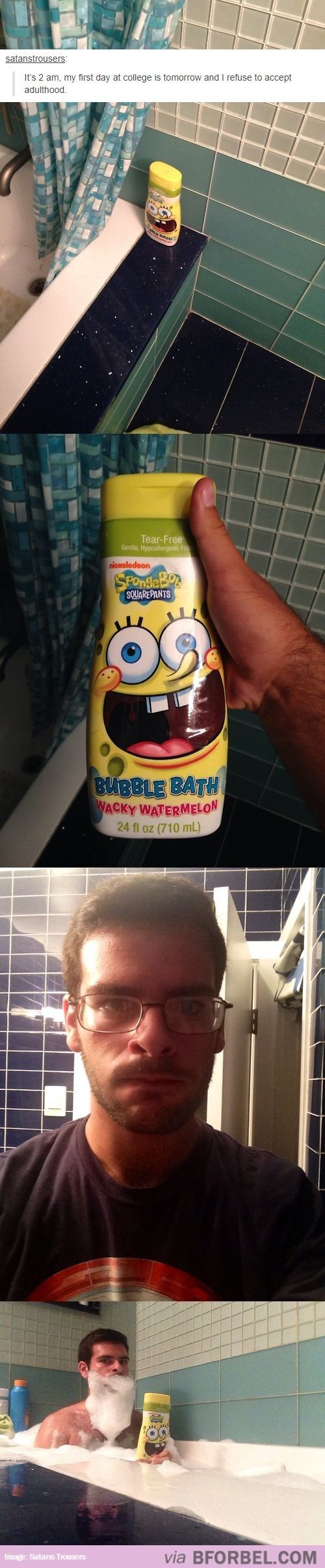 LOL: This Man, Accept Adulthood, College Life, Guy, Fucking Role, My Life, Bubble Baths, Captain America Shirt
