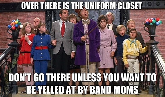 Marching Band Problems...We didn't yell...But by golly you better rehang it correctly!!: Band Camp, Band Colorguard, Band Gaurd, Band Stuff, Band Uniforms, Band Mom S, Band Humor, Marching Band Mom, Band Geeks