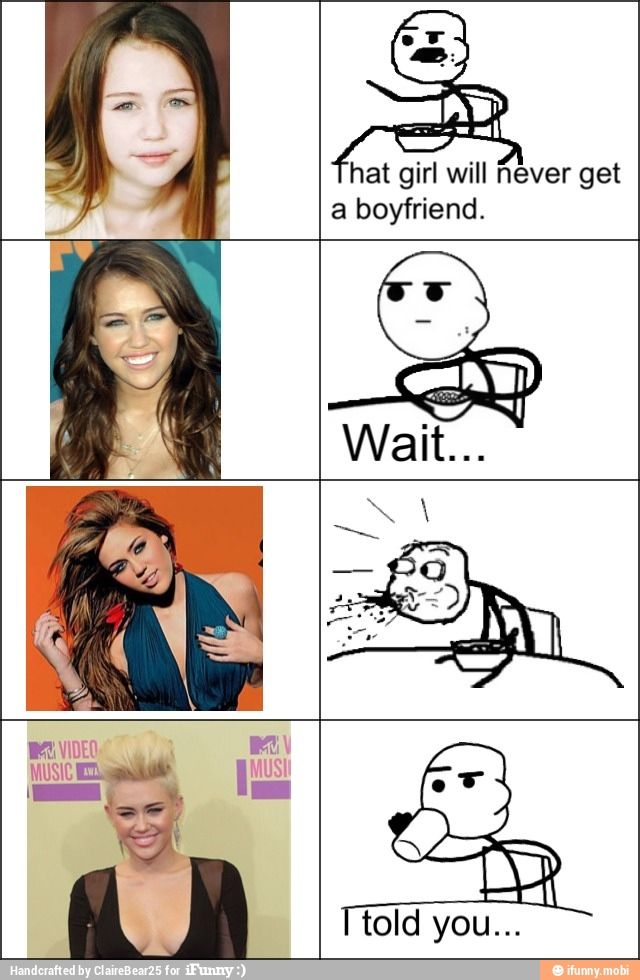 Miley. This is just funny. I know her hair cut was for a good cause but, her face is just way to round to pull it off right.: Miley Cyrus, Giggle, Liam Hemsworth, Funny Stuff, Funnies, Humor, Things, Funny Memes