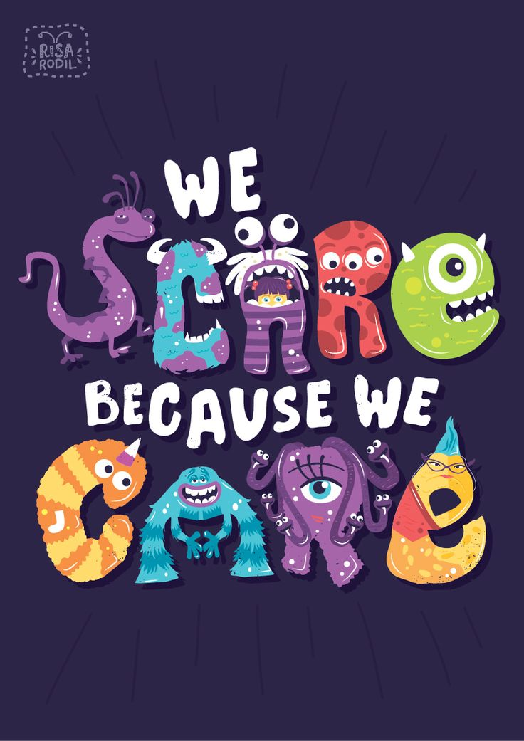 Monsters, Inc (2001) ~ Movie Quote Poster by Risa Rodil #amusementphile: That, Monsters Inc, Disney Pixar, Movie, Quote Poster, Pixar Quotes, Risa Rodil, Risarodil