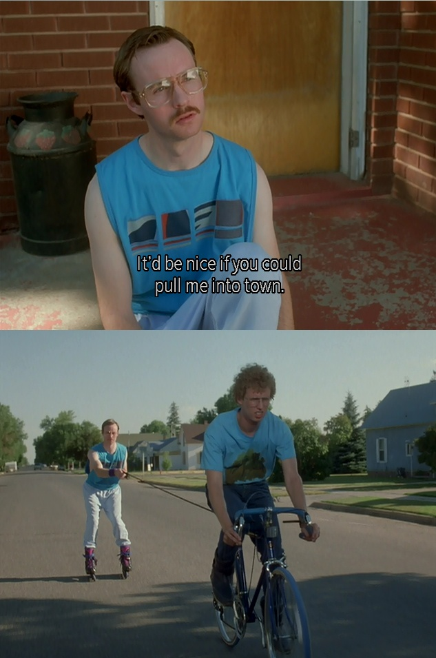 My go-to quote for Napoleon Dynamite!! Love ittt!!! @Brooke Baird Elaine: Be Nice, Movies Tv, Favorite Movies, Napolean Dynamite, Funny Stuff, Funnies, Movie Quotes, Napoleon Dynamite