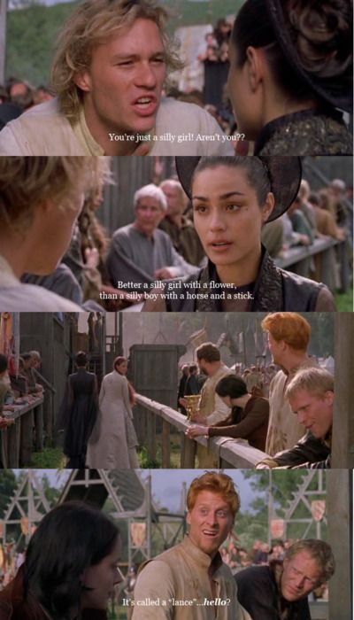 One of the best parts of this movie! Love it. I absolutely LOVE Alan Tudyk!: Movies Tv, Knights Tale, Favorite Movies, A Knight'S Tale, Favorite Quotes, Movie Quotes