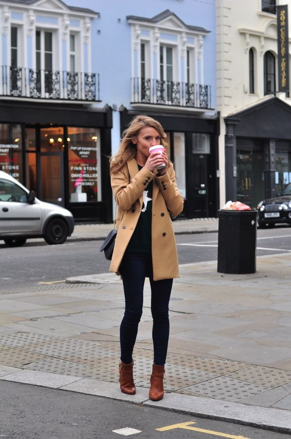 that coat: Fall Style, Street Style, Winter Outfit, Fall Outfit, Camel Coat, Fall Winter