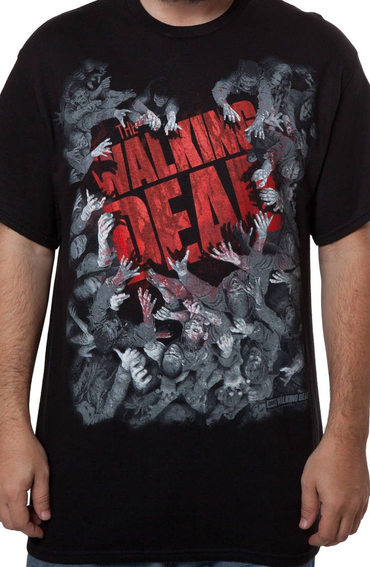 Walking Dead Zombie Attack: TV Shows The Walking Dead T-shirt: Thewalkingdead, The Walking Dead, Walking Dead Zombies, Tshirt, Tv Shows, Products