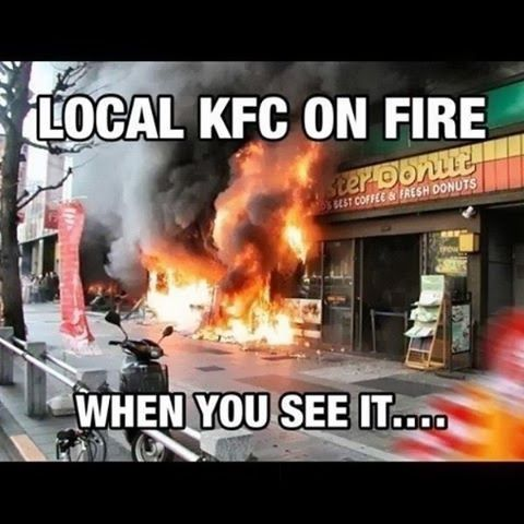 When You See it: Post 146: When You See It, Funny Stuff, Kfc, Monster Donut, Percy Jackson, Funnie
