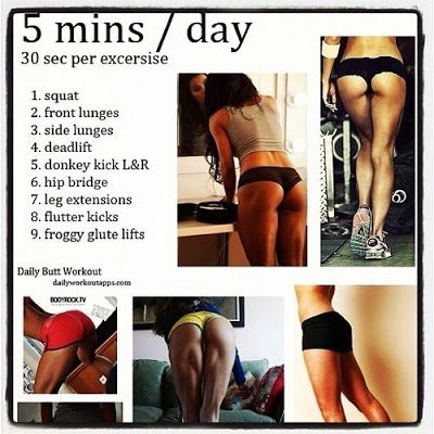 Wicked Fitness: Butt Workout!: Daily Butt, Fitness, Work Outs, Buttworkouts, Motivation, Butt Workouts, Healthy, Butt Exercises, Booty Workout