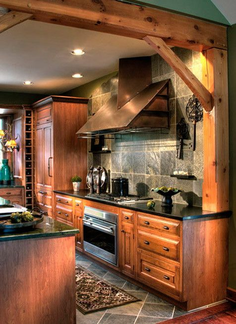 Beautiful kitchen: Kitchens, Dream House, Kitchen Design, Rustic Kitchen
