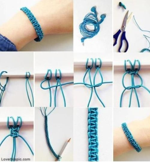 DIY Cool Elastic Bracelet Pictures, Photos, and Images for Facebook, Tumblr, Pinterest, and Twitter: Ideas, Diy'S, Bracelets, Diy Craft, Jewelry, Diy Bracelet, Crafts