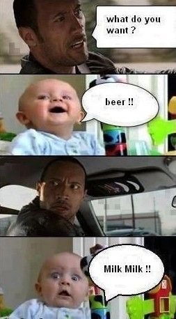 I dont know why this made laugh so hard but it did! Lmao: Fitness, Funny Stuff, Humor, Funnies, The Rock, Baby, Things