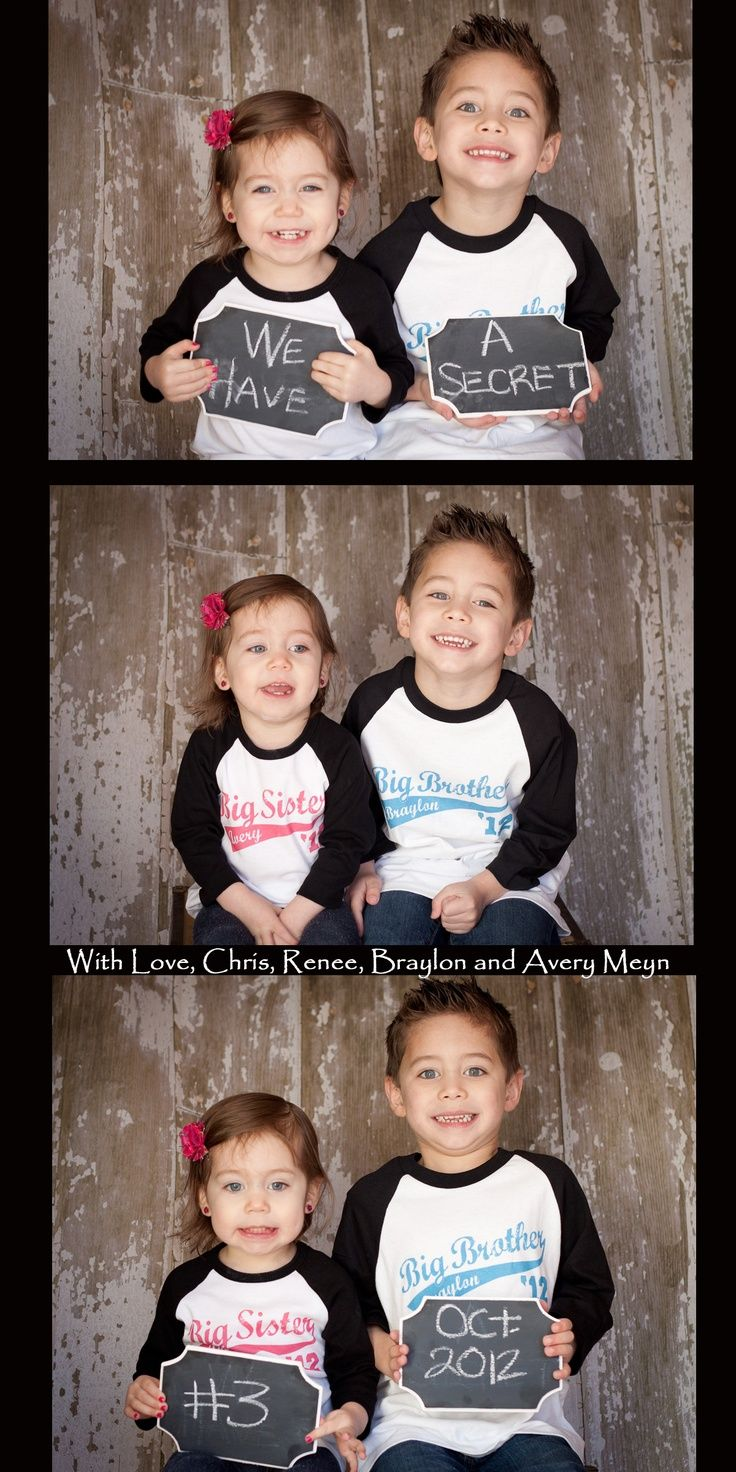 kids+announcing+baby+with+chalkboard.jpg 736×1,472 pixels: Pregnancy Announcements, Third Child, Cute Ideas, Baby Announcements, Announcement Ideas, Third Baby, Photo, Awesome Pregnancy, 22 Awesome