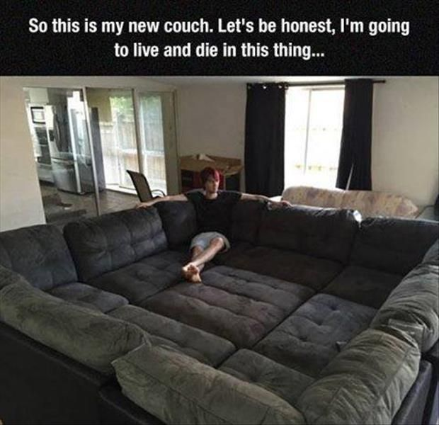 Lol gallery of the hour (02:52:35 AM, Thursday 19, February 2015 PST) – 15 pics: Ideas, Couch, Stuff, Awesome, Future, Dream House, Funny, Things, Room