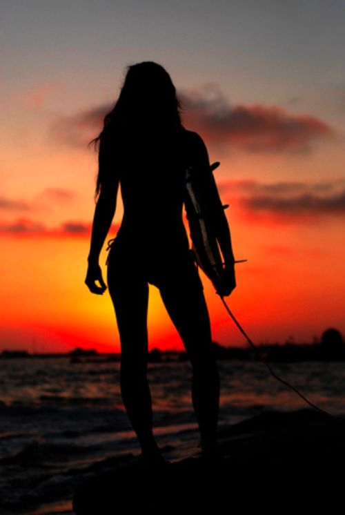 looking forward to those summer nights: Surf Girls, Surfer Girls, Surfing, Sunset, Surfergirl, Beach Life, Photo, Snowboards
