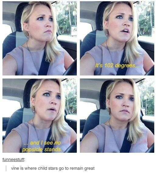 Oh, Emily. How I love you.: Child Stars, Emily Osment, Emily Osmet, Funny Stuff, So True, Popsicle Stands