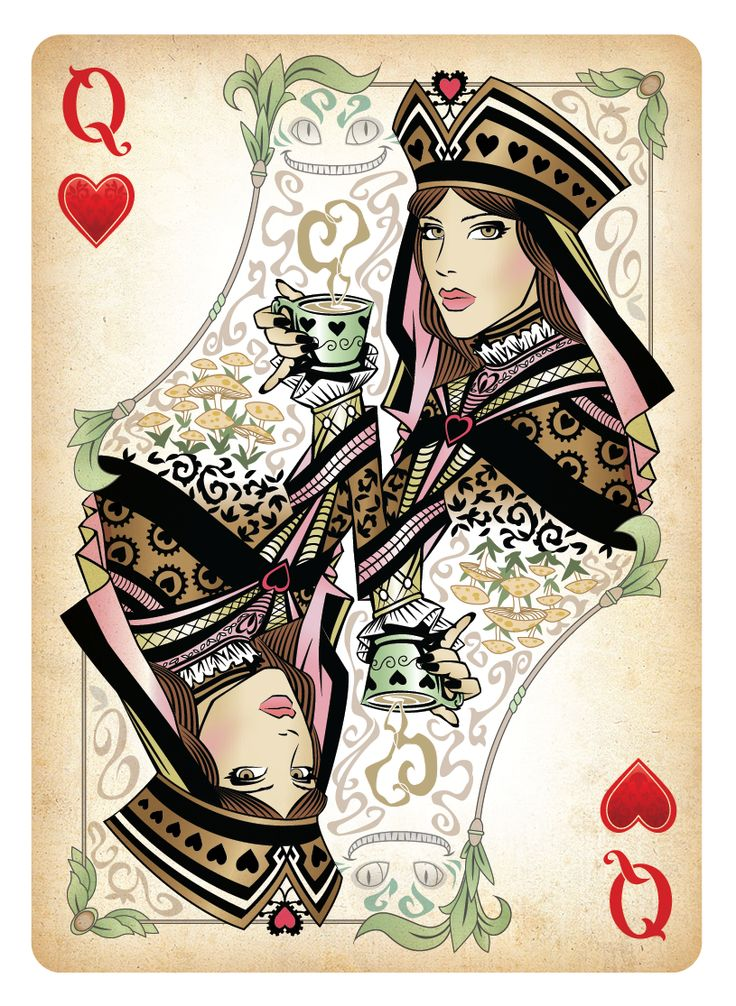 Queen of Hearts Card | The Queen of Hearts Playing Card by *Sketch2Draw on deviantART: Queen Of Hearts Card, Hearts Cards Queengold Jpg, Queens, Wonderland, The Queen, Alice, Playing Cards, Heart Cards