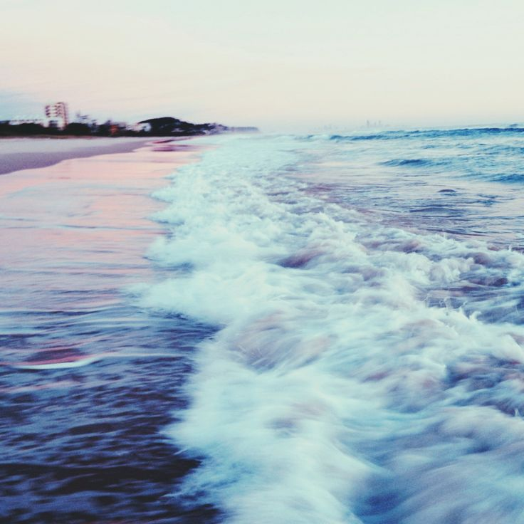 Things that make me happy: Sandy Waves, Dreamy Waves, The Wave, Sound, Kid, Waves Crash