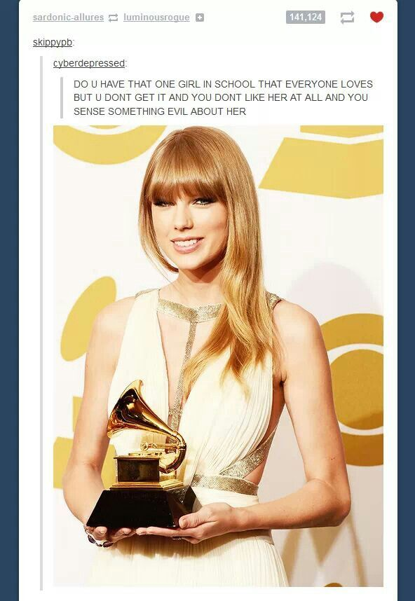 This is litteraly how I think about this one jerk Lelia like how did I even: Taylor Swift, Grammy Awards, Alison Swift, Taylorswift, Swift Awards, Awards Press, Celebrities, 2013 Grammy, Room