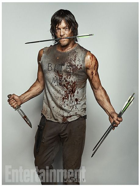 'Walking Dead': New EW Character Portraits, Daryl Dixon: Norman Reedus, Daryl Dixon, Normanreedus, The Walking Dead, Entertainment Weekly, Daryldixon, Walkingdead, Twd