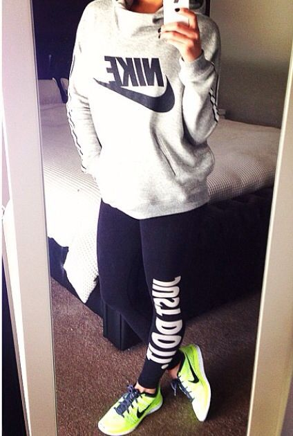 7 cute workout outfits for women - women-outfits.com Sporty Outfit Womens Workout Outfit ...