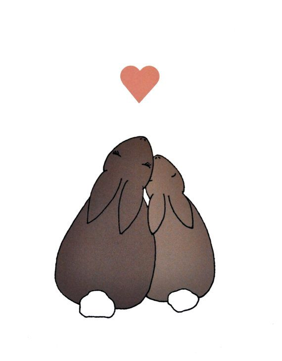 bunny tattoo? the littler one would be orange for marvy, and the big one brown for delilah!: Heart, Bunbun, Rabbit Tattoo, Bunny Tattoo Ideas, Easter Eggs, Bunnies Rabbit