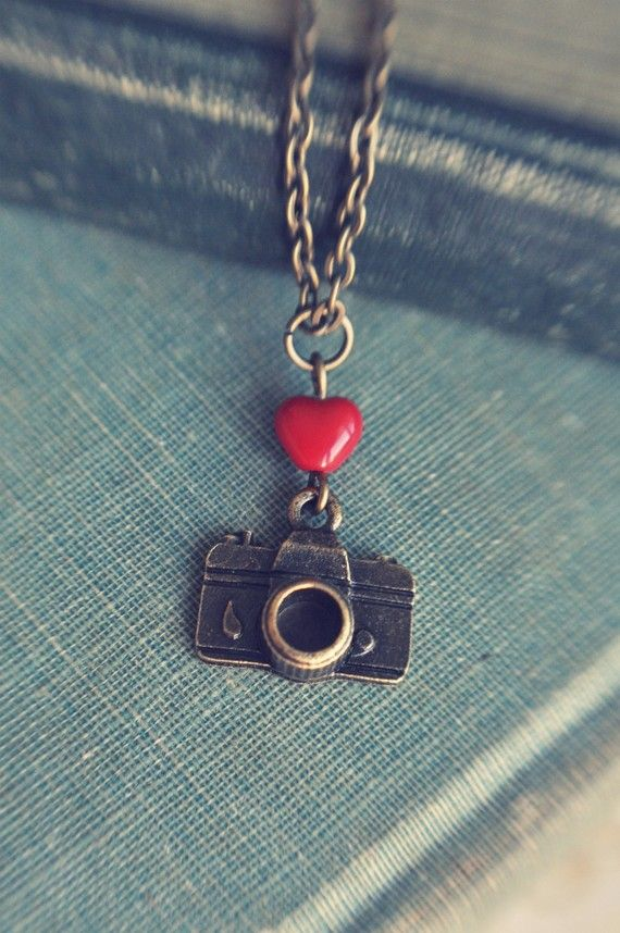 I heart my camera necklace by bellehibou on Etsy #cameranecklace #photography #jewelry: Gift, Heart, Jewlery, Photography Jewelry, Etsy Cameranecklace, Camera Necklace, Necklaces, Cameranecklace Photography, Cameras