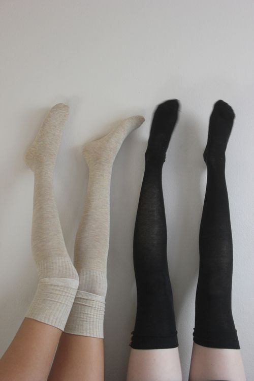 Knee Socks--these are great during winter with knee-high ...