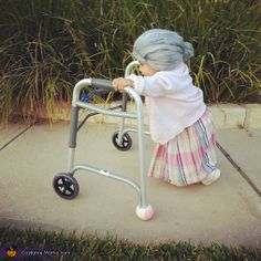 Little Old Lady Halloween Costume..dying hahahaaha
