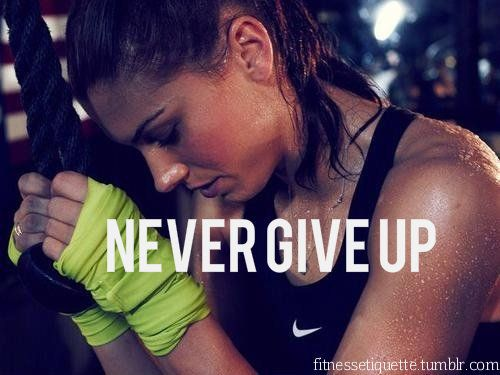 My fitness motivation page is dedicated to inspire anyone that likes fitness and wants to achieve a #fit and #healthy body.: Inspiration, Quotes, Fitness Motivation, Health, Never Give Up, Alex Morgan, Nevergiveup, Workout