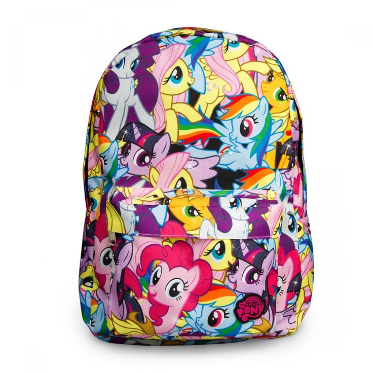 MY LITTLE PONY BACKPACK: Backpacks, Mylittlepony, Character Backpack, Multi Character, Pony Backpack, Ponies, My Little Pony, Pony Multi