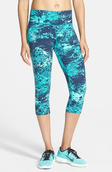 Nike 'Legendary' Print Dri-FIT Tight Fit Capri Leggings: Fit Capri, Capri Leggings, Nordstrom, Print Dri Fit, Nike Leggings Capri Prints, Dri Fit Tight, Nikes