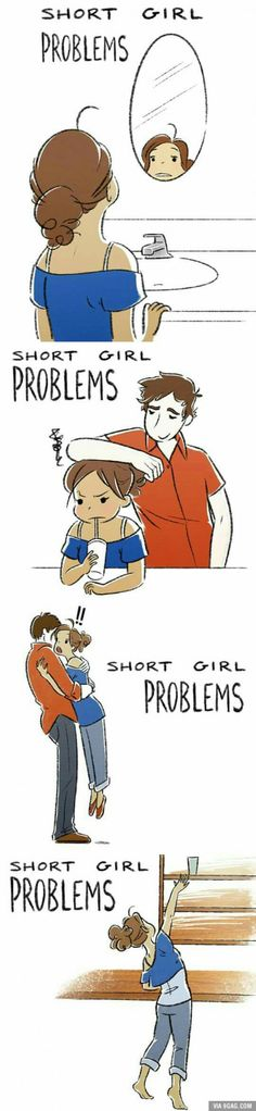 Short girl Problems.: Short People Problems Funny, Short Girl Problems Funny, Short Problem, Short Girl Funny, Short Girls Problems, Shortgirlproblems, Shorts