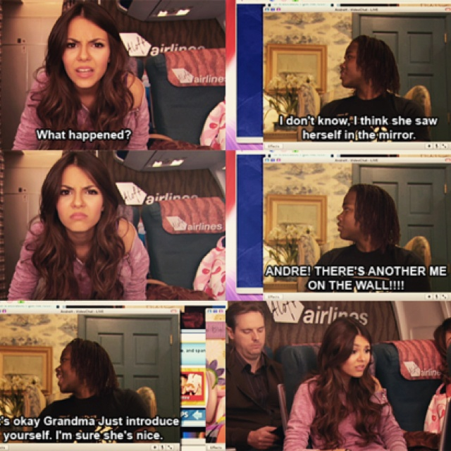 Victorious , Tori Vega,Andre,Beck,cat,: Victorious Quotes Nick, Hair Styles, Nickelodeon Victorious Funny, Sam And Cat Quotes, African American Hair, Victorious Funny Quotes, Quotes Memes Shows Movies, Victorious Nickelodeon, Icarly Quotes