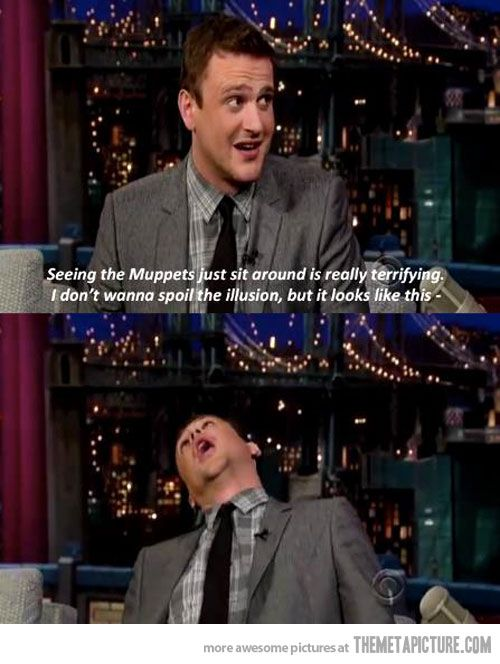 Laughing so hard at this...: Giggle, Jasonsegel, Jason Segal, Funny Stuff, Funnies, The Muppets, Things, Jason Segel