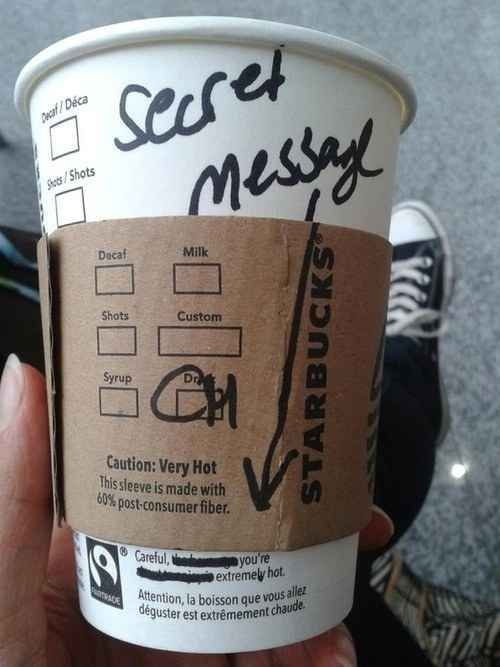 This person who is aware of their surroundings. | 25 People Who Have Nailed This Flirting Thing: Pick Up Line, Funny Stuff, Extremely Hot, Things, Messages, Starbucks