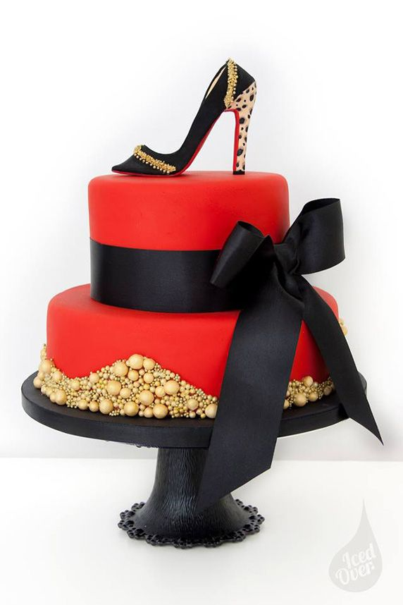 Beautiful Cake Pictures Red Louboutin Inspired Cake